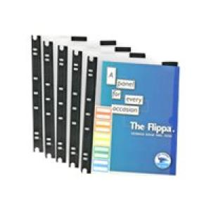 Arnos Flippa Display Panels Top Opening A4 Clear Pack 5 Image