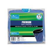 Mpm Garbage Bag High Density Premium Blue 70-77L Pack 50