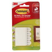 Command Small Picture Hanging Strips 4Pk 17202