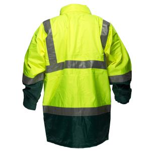 Prime Mover HV306 Rain Jacket with Reflective Tape