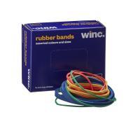 Winc Rubber Bands Assorted. 100 100g
