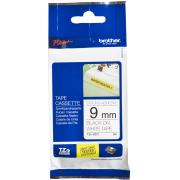 Brother TZE-S221 Tape Label Adhesive BLACK/WHITE 9mm