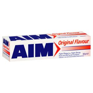 Aim Original Toothpaste 90g Each