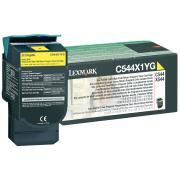 Lexmark C544X1YG Yellow Toner Cartridge