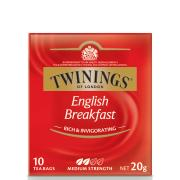 Twinings English Breakfast Tea Bags Pack 10