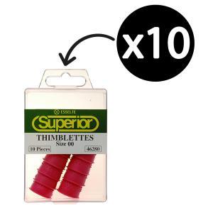 Esselte Superior Thimblettes Size 00 Darkpink Box 10