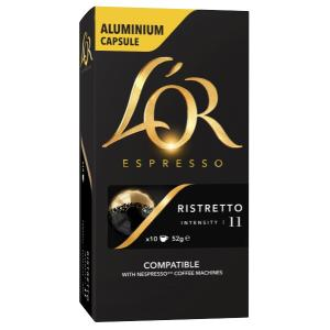 L'OR Espresso Ristretto Coffee Capsules Box 10