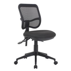 Viva Mesh Medium Back Task Chair Black