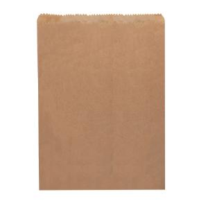 Castaway Paper Bags No 6 Flat 235X350mm Brown Carton 500