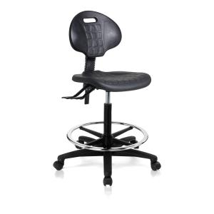 Kalina Drafting Chair Black