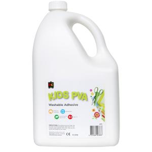 Educational Colours Glue PVA 5 Litres Washable Craft