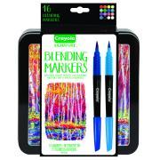 Crayola Signature Blending Markers Tin 16