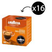 Lavazza A Modo Mio Coffee Capsules Delizioso 7.5g Box of 16