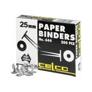 Jasco 0006446 Celco Paper Binder No.644 25mm Box 200