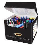 Bic Pens Markers Highlighters Value Box Assorted 111 pcs