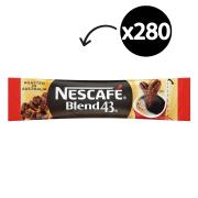 Nescafe Blend 43 Instant Coffee Sticks 1.7g Carton of 280