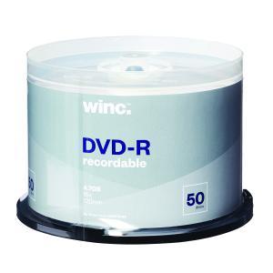 Winc DVD-R 4.7GB 16x 120min Spindle 50