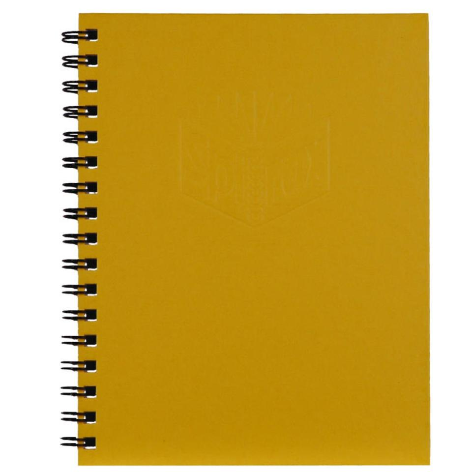 Spirax 511 225X175mm 200 Page Side Opening Hard Cover Notebook Yellow