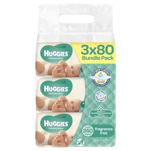 Huggies Baby Wipes Unscented Jumbo Refill 2 Bundles Of 240