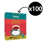 Dilmah English Breakfast Tea Bags Pack 100