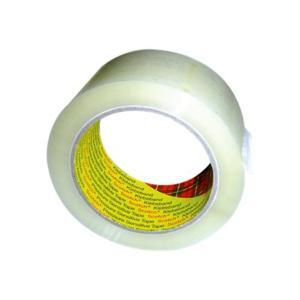 3M 370 Scotch 36mmx75m Packaging Tape Polypropylene Clear