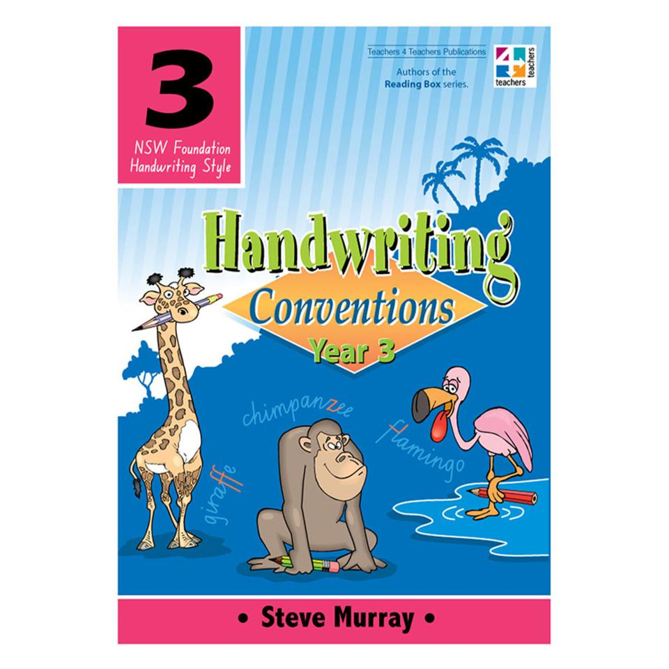 T4T Handwriting Conventions NSW Year 3