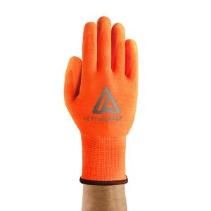 Activarmr 97-013 Hi Viz Medium Duty Gloves Orange Cut 3 Size 10 Pair