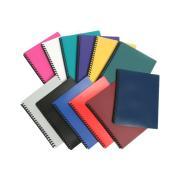 Marbig A4 Display Book Refillable 40 Pockets Black