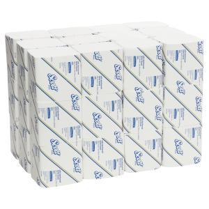 Scott 4321 Interleaved Toilet Tissue White 500 Sheets/Roll Carton 36