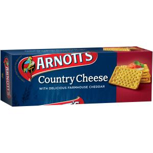 Arnotts Country Cheese 250g