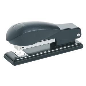 Winc Desktop Stapler Half Strip Black