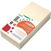 Teter Mek 203x102mm 300gsm White Flash Card Pack of 100