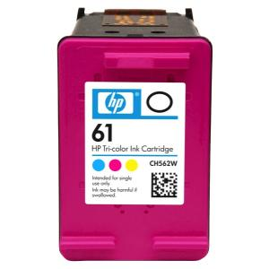 HP 61 Tri-Colour Ink Cartridge - CH562WA