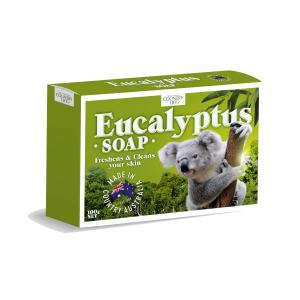 Australian Series Eucalyptus Soap 100gm Carton 48