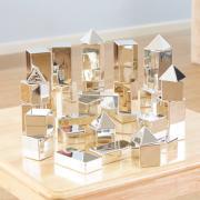 Metallic Mini Blocks Assorted 32 Pieces