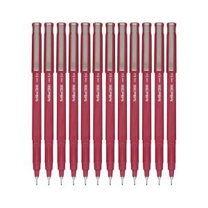 Artline 200 Fineline Pen 0.4mm Bright Red Box 12