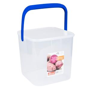 Decor Tellfresh Square Super Storer Container With Handle