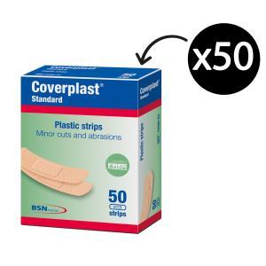 Coverplast Plastic Adhesive Strips Pkt50